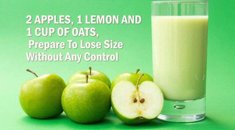 Lemon And 1 Cup Of Oats Prepare To Lose Size Without Any