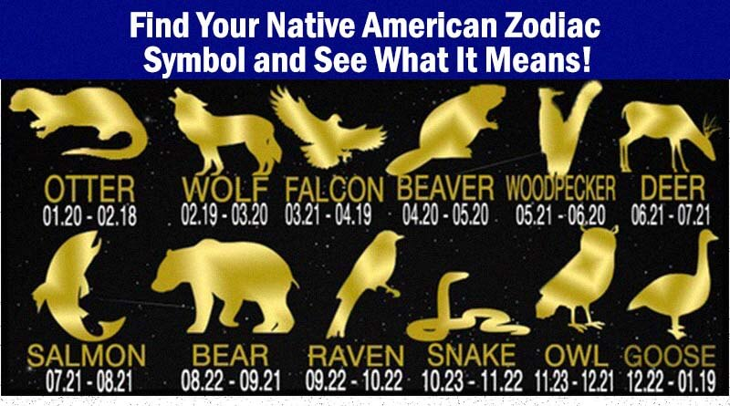 Find Your Native American Zodiac Symbol And See What It Means